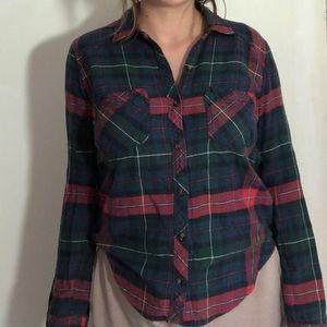 abecrombie flannel